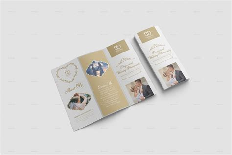 Wedding Menu Brochure by Wedding Brochure Template By Designhaunt Graphicriver