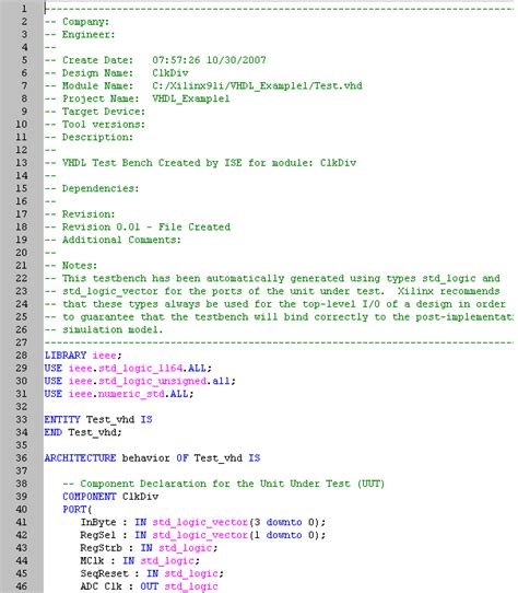 how to write test bench for vhdl code test bench vhdl 28 images how to write test bench for