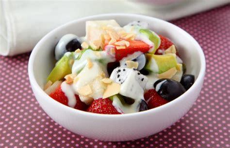 Testimoni Salad Buah 2 salad buah saus jeruk