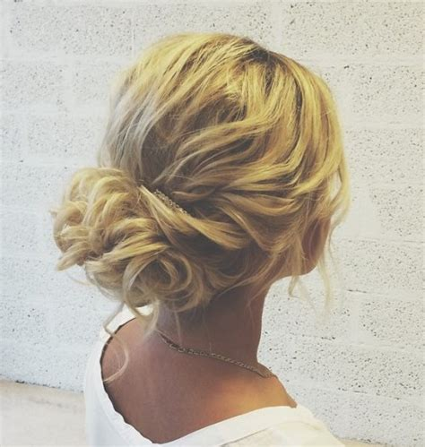 Messy Updos For Fine Hair | 60 updos for thin hair that score maximum style point
