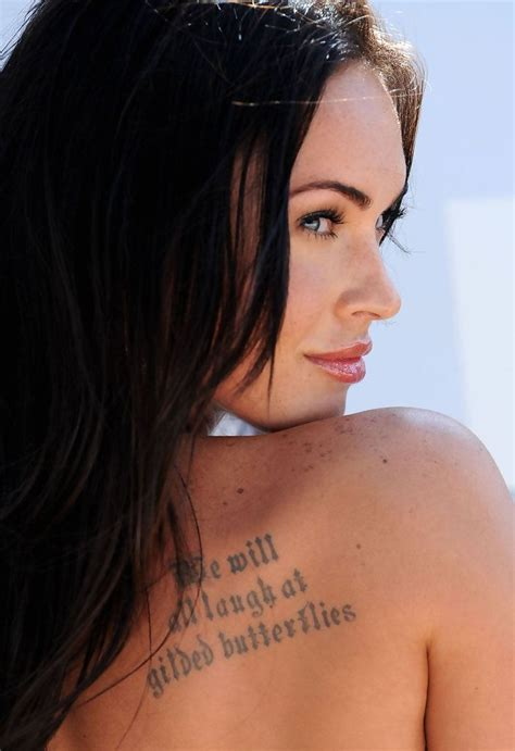 megan fox s tattoos 154 best images about megan fox on