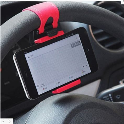 Phone Holder Car Steer Steering Wheel Cell Phone Car Mount Holder For 5 99