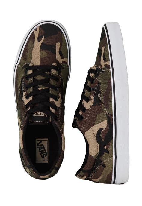 Army Shoes vans kress camo black army shoes impericon worldwide