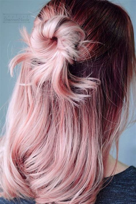 hait color quartz hair pantone hair colour trends hair