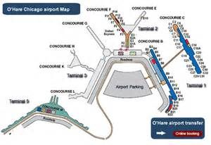 Chicago O Hare Airport Map by Map Of Terminals At O Hare Airport Ord