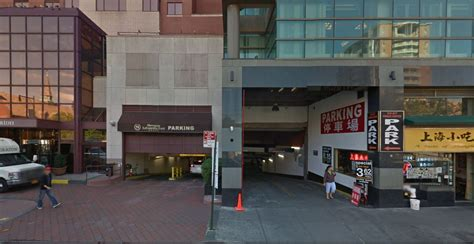 Flushing Parking Garage by Commercial Spaces
