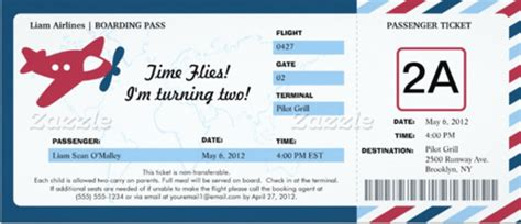 boarding pass place card template 31 ticket invitation templates free sle exle