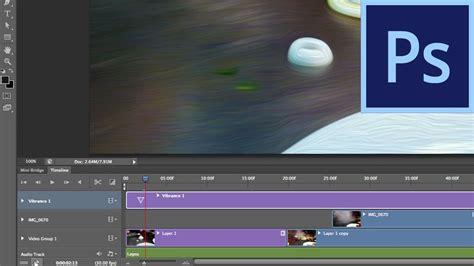 tutorial photoshop cs6 video editing photoshop cs6 video editing improvements youtube
