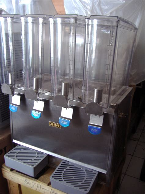 Alat Pres Plastik Jus mesin pendingin minuman juice dispencer distributor mesin