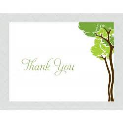 tree thank you cards style 483 whimsicalprints
