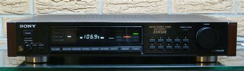 The Originals Tuner sony st 333esxii tuner garage sale the klipsch audio community