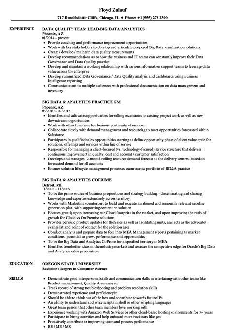 Big Data Resume by Big Data Resume Resume