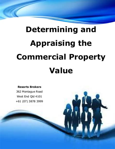 determining and appraising the commercial property value