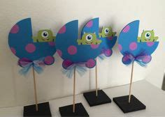 monsters inc baby shower centerpieces monsters inc baby shower centerpiece