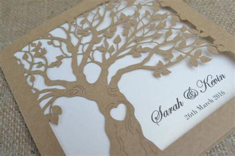 cut pro wedding templates laser cut tree wedding invitations laser cut tree wedding