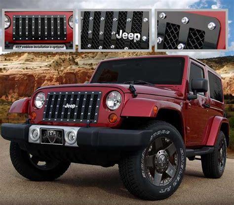 Jeep Wrangler Grills Jeep Wrangler E Power Mesh Grille By E G Classics 2007