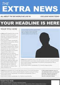 newspaper front page template 10 free word ppt eps