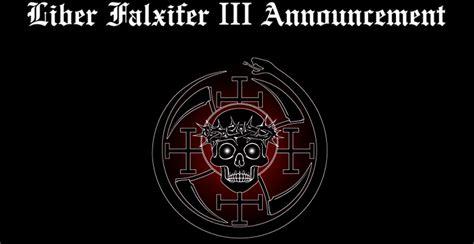 Liber Falxifer Iii Announcement Temple Of The Black