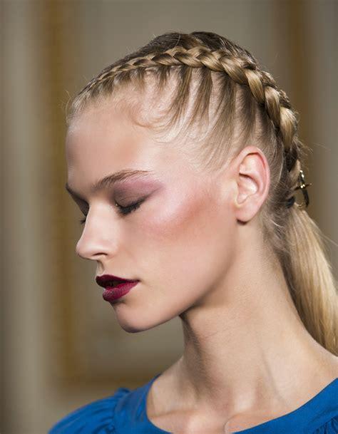 coiffure femme 2016 coiffure 2016 tresse coll 233 e les 25 plus belles coiffures