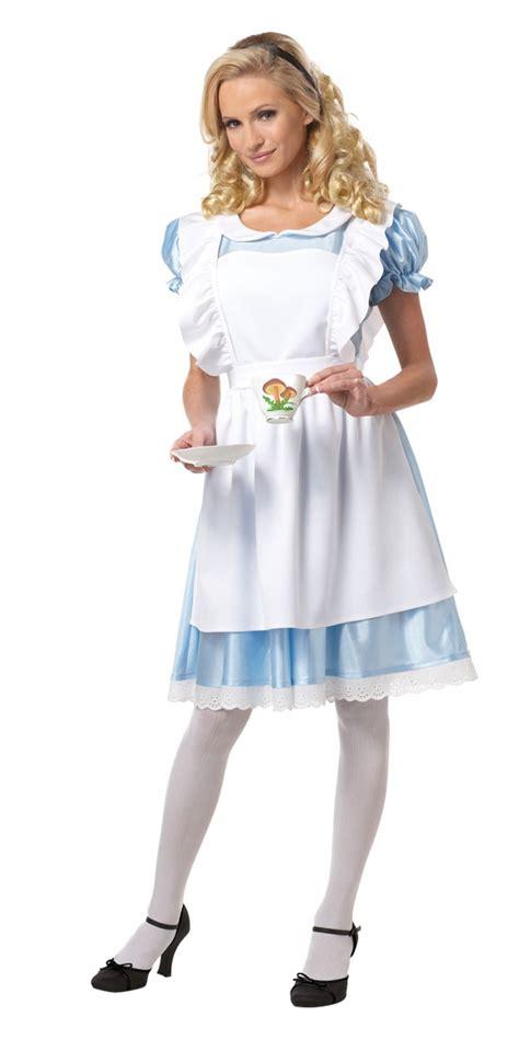 alice in wonderland costume alice in wonderland costumes adult classic alice costume 01191 fancy dress ball