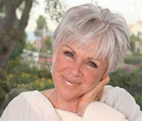 shoft hairxos for grey haired women 70 and over best short hairdo for women over 70 hair pinterest