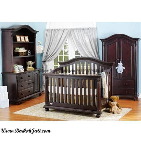 Tempat Tidur Bayi Kayu Jati tempat tidur bayi model minimalis kayu jati berkah jati