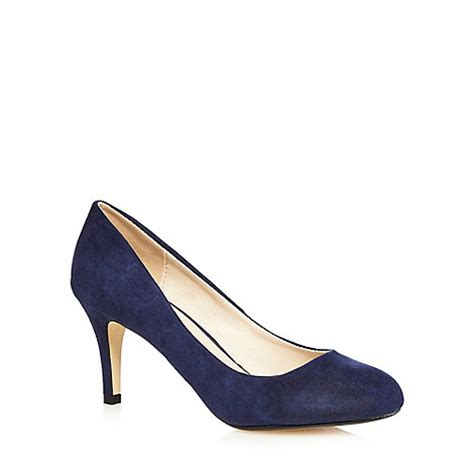 the collection navy high stiletto heel court shoes debenhams