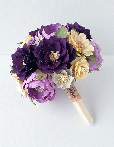 Flower Paper Bouquet paper bouquet paper flower bouquet wedding by