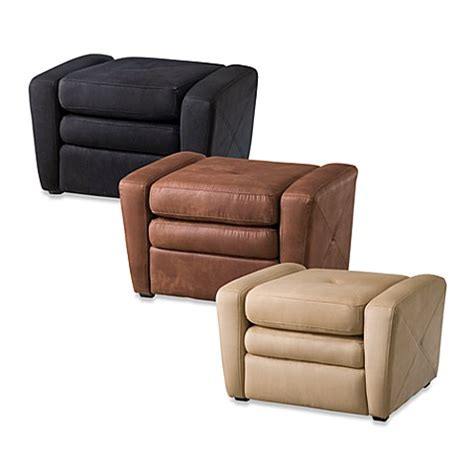 gaming chair with ottoman home styles microfiber gaming chair ottoman bed bath