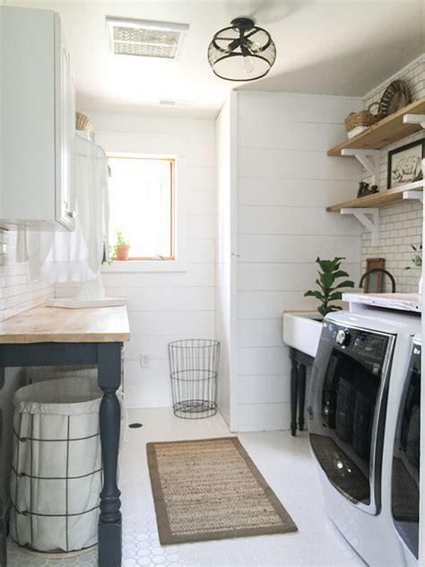 how do you say laundry room in one room challenge farmhouse laundry room reveal twelve on