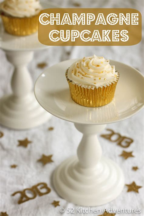 new year cupcake recipe chagne cupcakes recipe dishmaps