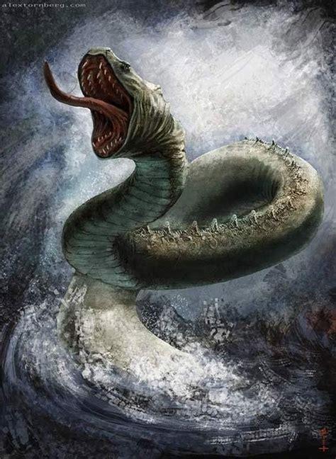 imagenes de criaturas mitologicas marinas monstruos marinos mitol 243 gicos taringa