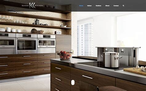 Kustom Kitchens by Website Builder In Fresno Local Seo Services Pc
