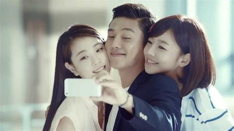 yoo ah in young yoo ah in philips young kit cf making movie youtube