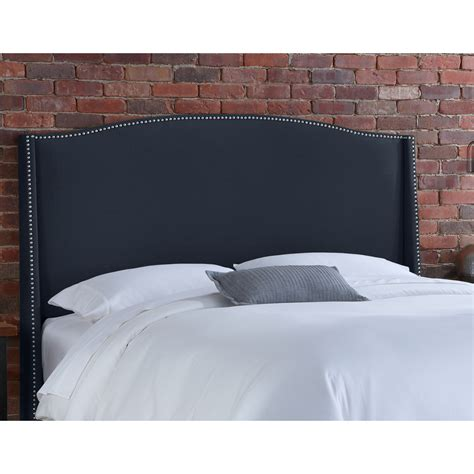 Upholstered Wingback Headboard by Skyline Furniture 42 Nail Button Wingback Upholstered Headboard Atg Stores