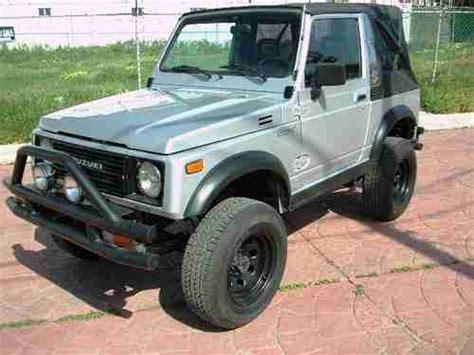 Suzuki Convertible 4x4 For Sale Find Used 1988 Suzuki Samurai 4x4 Convertible
