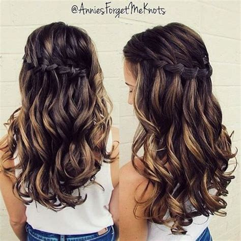 Wedding Hairstyles For Outside by Annies Forget Me Knots Homecoming Hairstyle Wavy Haircut
