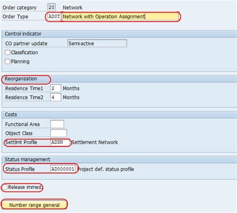 tutorial sap ps create network types in sap sap training tutorials