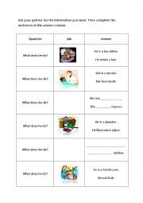 printable job application for gap english worksheets jobs information gap activity