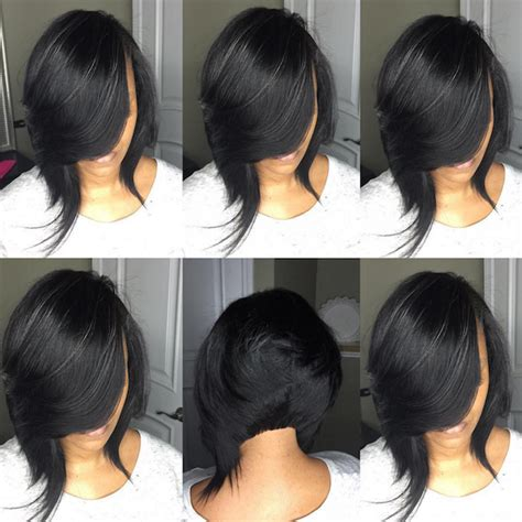 quick weave bob hairstyles pictures how to achieve a banging bob with a quick weave voice of