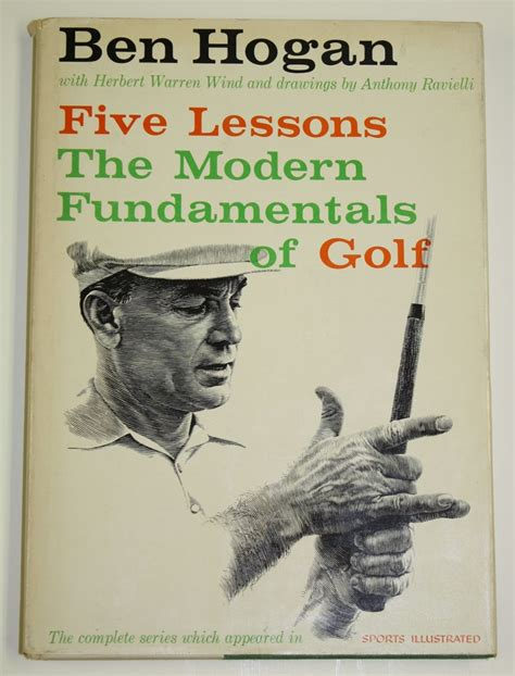 Pdf Ben Hogans Five Lessons Fundamentals by Lot Detail Ben Signed Quot Five Lessons The Modern