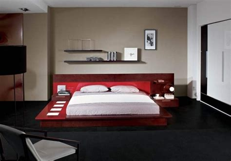 headboard with nightstand attached bed headboards