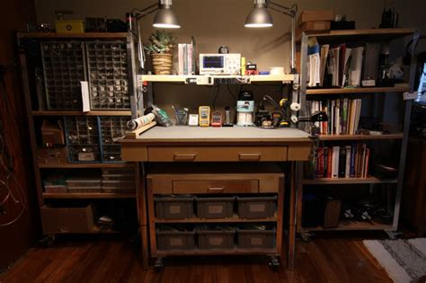 work bench shelves diy bedroom workbench and shelves mike beauch