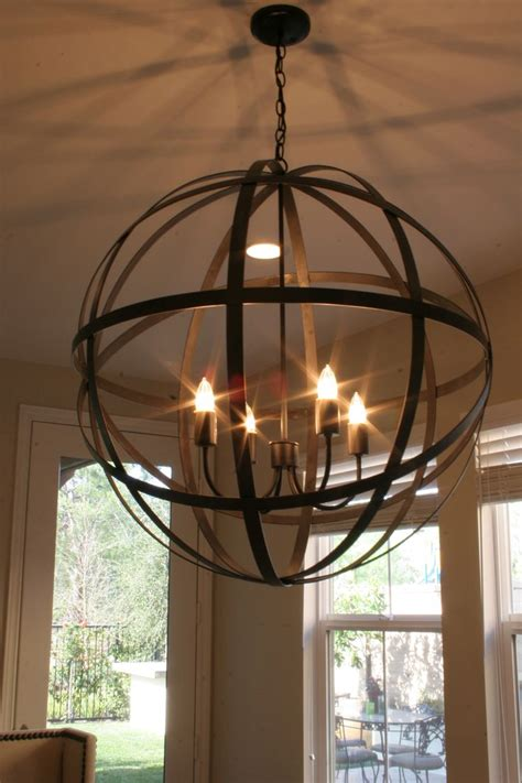 Orb Chandelier Dining Room 25 Best Ideas About Globe Chandelier On Orb