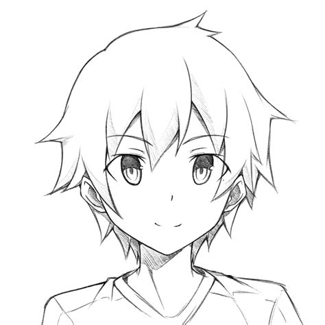 anime boy easy to draw anime easy to draw draw anime drawings inspiration