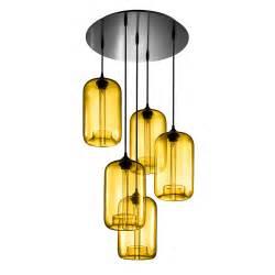 Pendant Chandelier Modern Circular 5 Modern Chandelier Lighting With Pod Pendants