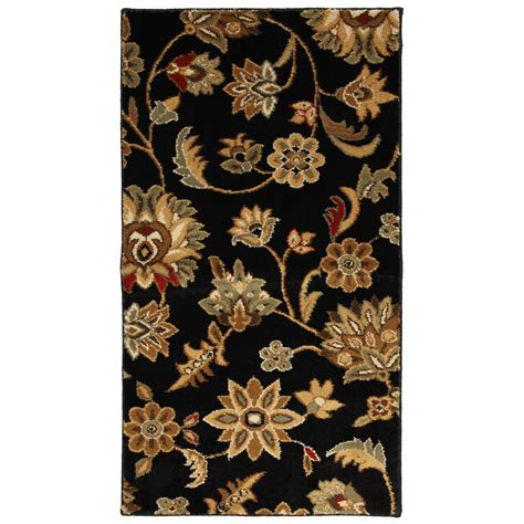mohawk home accent rug shop mohawk home blackbourne rectangular multicolor floral
