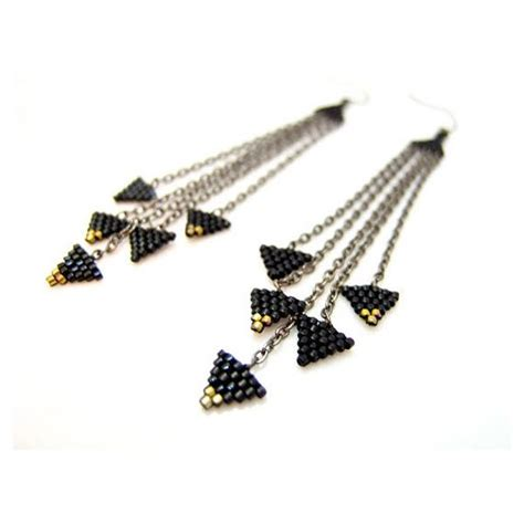 Tasseled Triangle Earrings 2882 best boucles d oreilles images on charm