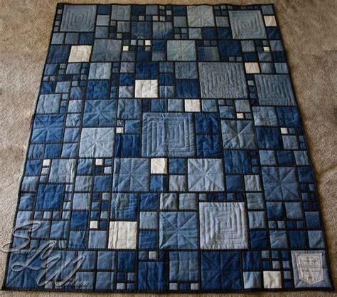 17 best ideas about denim quilts on blue jean