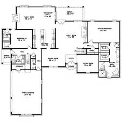 5 Bedroom House Plans 1 Story Gallery For Gt 4 Bedroom 1 Story House Plans